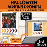 Halloween Writing Activities for 3rd Grade Google Classroo