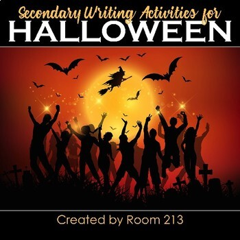 Halloween Writing Activities for Middle & High School Students
