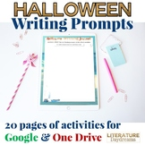Halloween Writing Activities for teens (Digital Google Drive Edition)