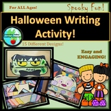 Halloween Writing Activity!