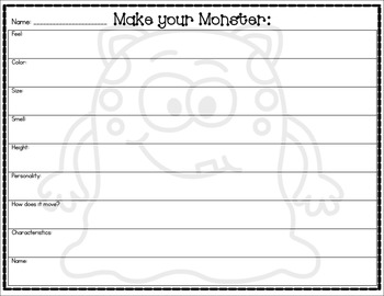 Halloween Writing: Monster for Hire