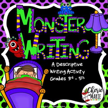 Monster Writing Craftivity