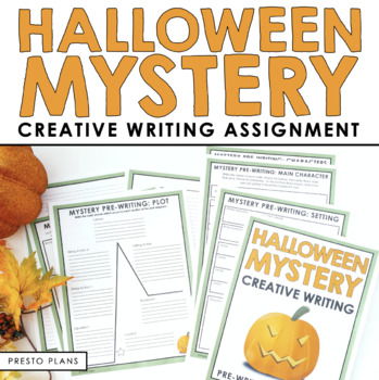 HALLOWEEN WRITING ACTIVITY: MYSTERY WRITING