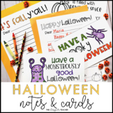 Halloween Writing Activity   Halloween Letters and Cards