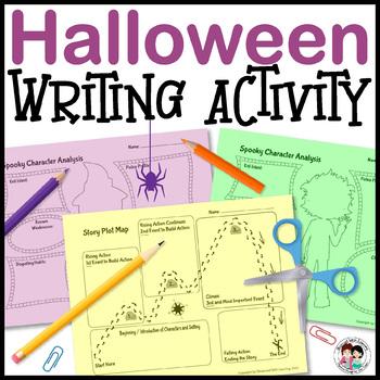 Halloween Writing Craftivity
