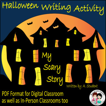 Halloween Writing Craftivity