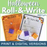 Halloween Writing Activity - Roll & Write Center