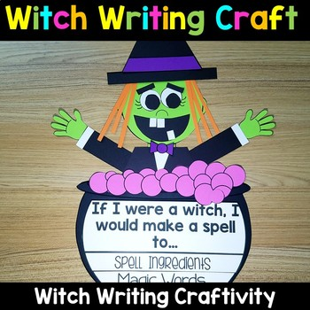 Halloween Writing Activity - Witch Craft
