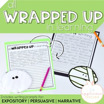 Halloween Writing Activity and Craft Mummy Writing