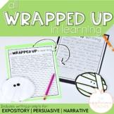 Halloween Writing Activity and Craft Mummy Writing