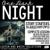 Halloween Writing (Audio Story Starter)