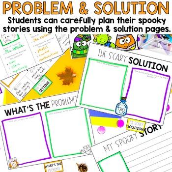 Halloween Writing Book, Spooky Story