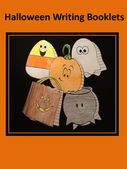 Halloween Writing Booklets