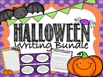 Halloween Writing Bundle- Common Core Aligned