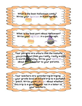 Halloween Writing Bundle (Common Core Aligned)