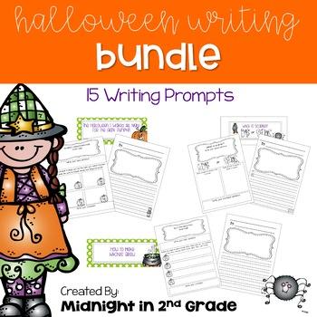 Halloween Writing Bundle Common Core Alligned
