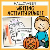 Halloween Writing Bundle | October Writing Prompts, Worksh