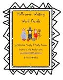 Halloween Writing Cards
