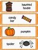 Halloween Writing Center Cards