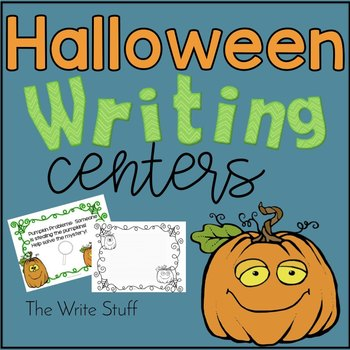 Halloween Writing Centers