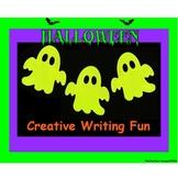 Halloween Writing Centers - Creative Writing Fun
