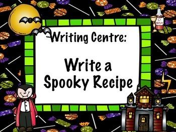 Halloween Writing Centres