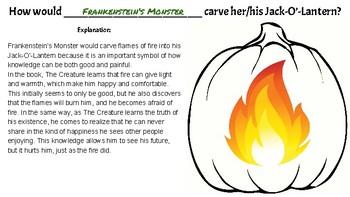 Halloween Writing: Character Jack-O'-Lanterns