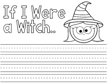 Halloween Writing Craft Activities:  Halloween Writing Prompts