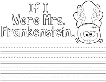 Halloween Writing Craft Activities:  Halloween Writing Prompts