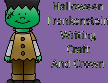 Halloween Writing Craft:  Frankenstein