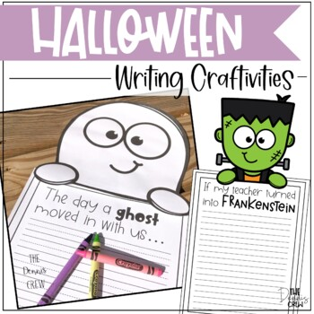 Halloween Writing Craftivities