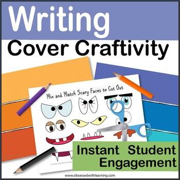 Halloween Writing Craftivity Scary Character Creation