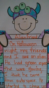 Halloween Writing Crafts ~ Cute and Simple