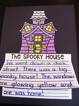 Halloween Writing Craft Activities Bundle