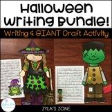 Halloween Writing Crafts Bundle- Witch and Frankenstein