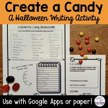 Halloween Writing: Create a Candy