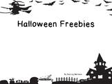 Halloween Writing Freebie