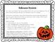 Halloween Writing Freebie {Common Core Aligned}