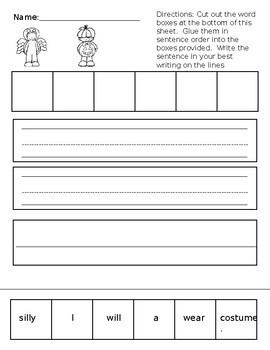 Occupational Therapy Halloween Handwriting Fun Pack