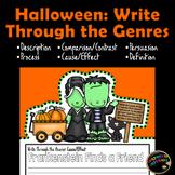 Halloween Writing Genres: Activity and Bulletin Board Display