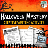 Halloween Writing Activity - Mystery Story - Digital  Distance Learning
