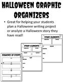 Halloween Writing Graphic Organizer Halloween Graphic Organizer Writing Plan