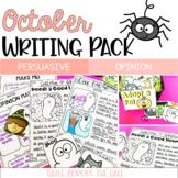 Halloween Writing | Halloween Activities | Opinion + Persu