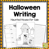 Halloween Writing Activity: Haunted House for Sale