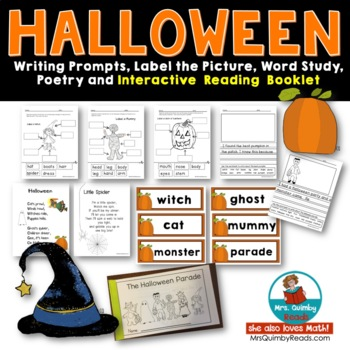 Halloween Writing - Interactive Reading Booklet