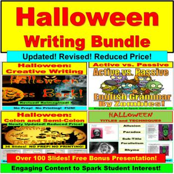 Halloween Writing JUMBO!