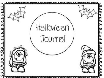 Halloween Writing Journal