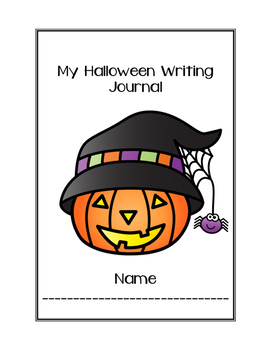Halloween Writing Journal