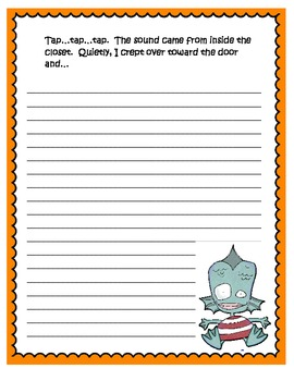Halloween Writing Journal With Prompts