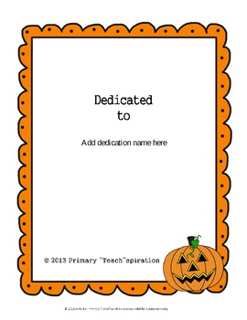 Halloween Writing Pack  {Editable}